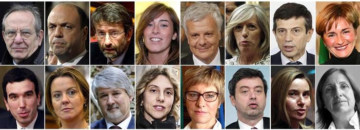 L'Italia ha un nuovo governo. Renzi e i ministri giurano davanti a Napolitano