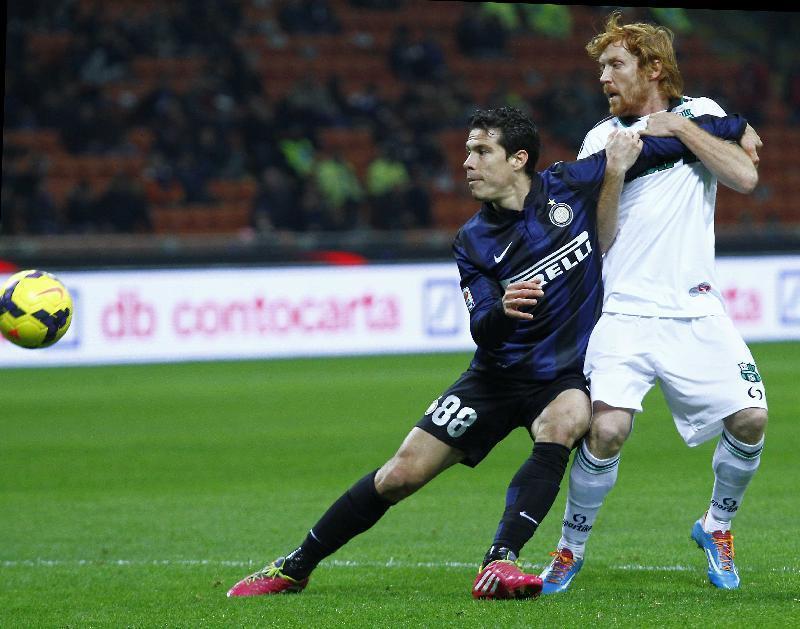 Inter – Sassuolo 1-0, Samuel rimette in moto i nerazzurri