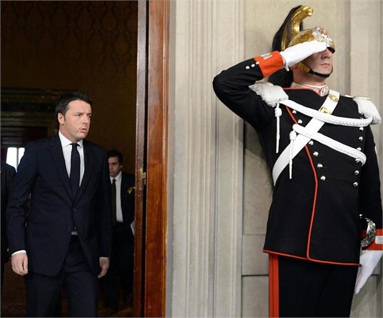 Arrivo Arrivo. Renzi scioglie le riserve e annuncia la squadra di governo