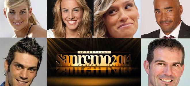 Sanremo: anche lo sport sul palco dell'Ariston