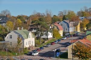 una via di Mariehamn