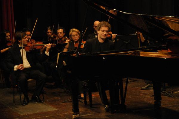 Andrea Lucchesini al Conservatorio Verdi di Milano