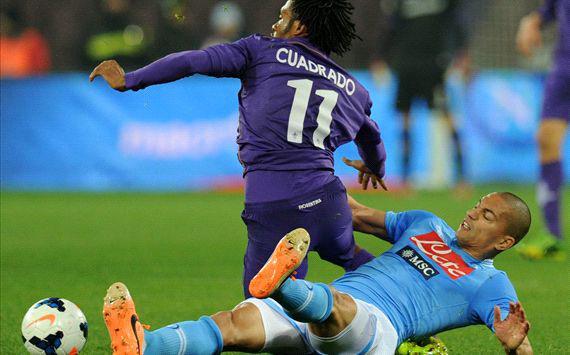 La Fiorentina gela il San Paolo: la Viola batte il Napoli 1-0