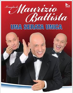 """Maurizio Battista Al Teatro della Luna il 21 e 22 marzo per """"Una serata unica"""""""