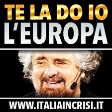 """""""Te la do io l'Europa"""": tour teatrale di Beppe Grillo dal 1 aprile"""