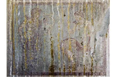 Trafugato affresco da domus a Pompei
