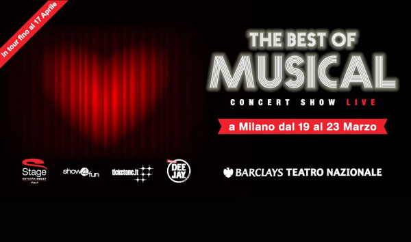 The Best of Musical – I musical Stage Entertainment rivivono in concerto