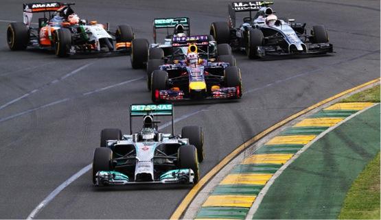 Gp Australia: vince Rosberg, Ricciardo secondo ma squalificato, terzo posto per l'esordiente Magnussen