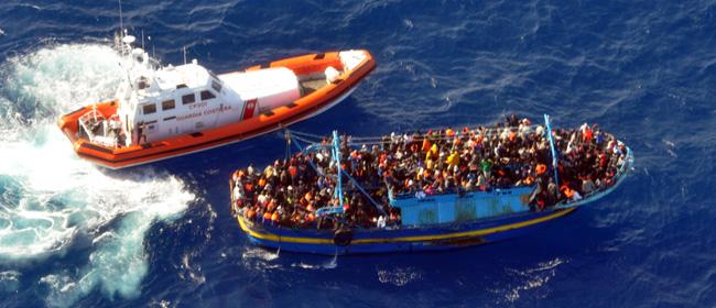 """Mare nostrum"""": la Marina salva 596 migranti con due interventi"""