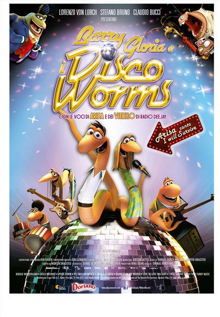 """""""Barry, Gloria e Disco Worms"""", film d'animazione con la voce di Arisa"""