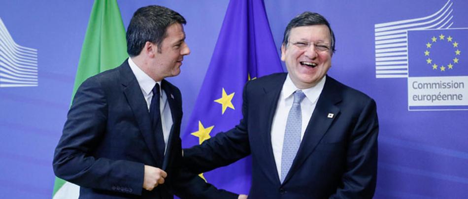 L'Unione Europea sosterrà l'Italia. Renzi incassa anche l'ok di Barroso