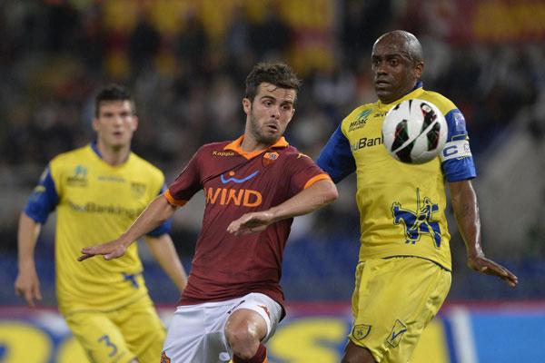 La Roma liquida il Chievo con due reti!