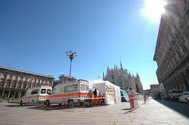 Una mini centrale operativa del 118 in piazza Duomo per i grandi eventi