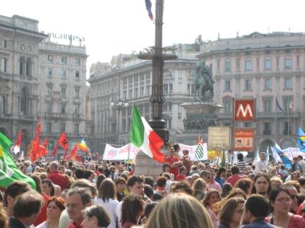 Milano Celebra il 25 aprile: contestazioni per Pisapia