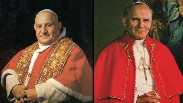 Papa Bergoglio proclama santi Roncalli e Wojtyla: un evento storico irripetibile