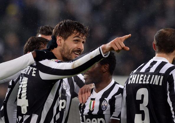 Llorente stende il Livorno e riporta la Juventus a +8