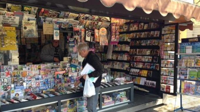 """Milano: nuovo """"look"""" per le edicole, in occasione di Expo diventano """"Infopoint"""""""