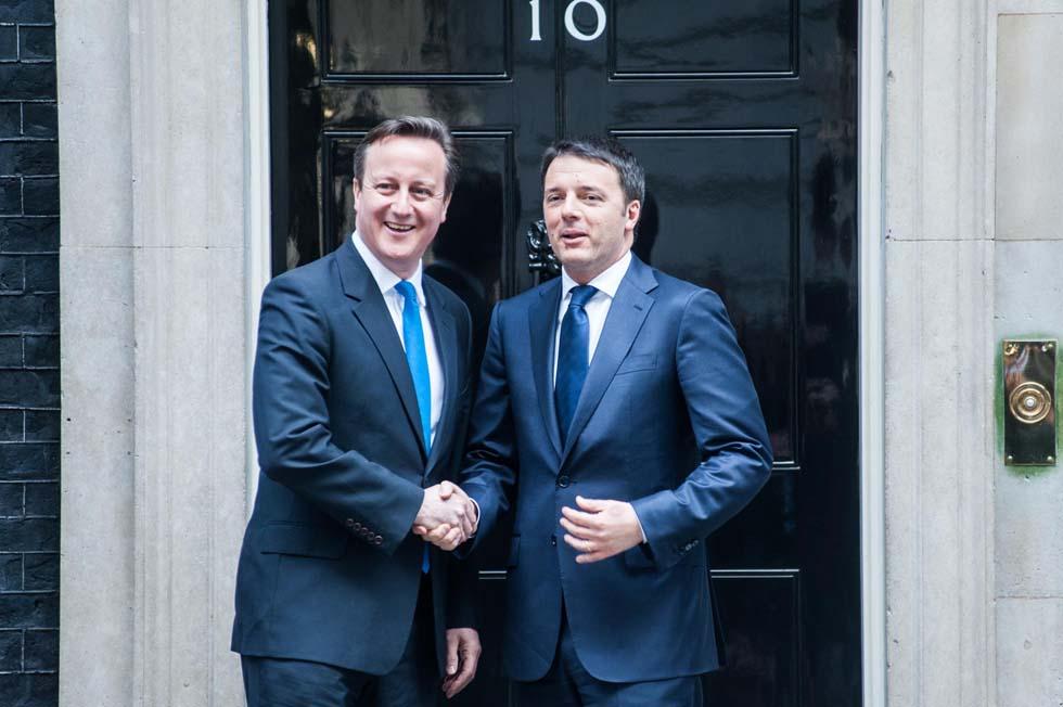 Incontro Renzi – Cameron, il premier: «Italia riformata, Europa diversa»