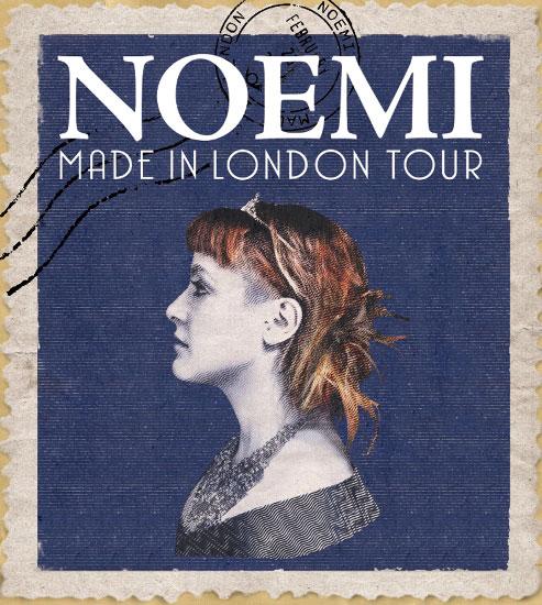 Noemi si sposta al Teatro dal Verme di Milano per il suo Made in London Tour