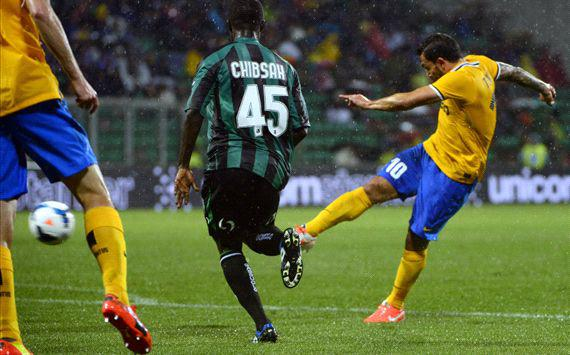 La Juventus vince in rimonta sul Sassuolo imponendosi per 3-1