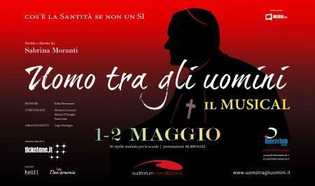 Uomo tra gli uomini – Il musical è pronto per il debutto a Roma