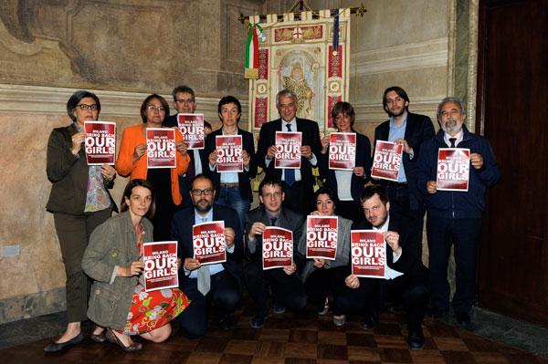 Il Comune di Milano aderisce alla campagna #bringbackourgirls