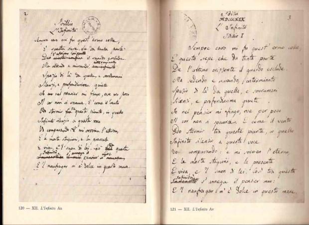 L'infinito di Leopardi: scoperto nuovo manoscritto autografo