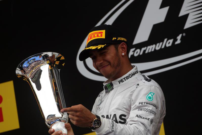 GP Spagna: Hamilton batte di un soffio Rosberg