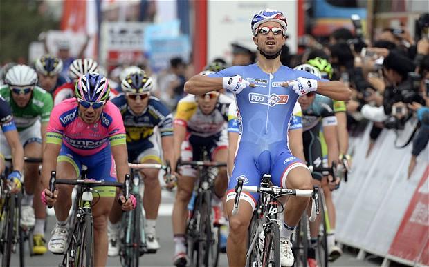 Giro d'Italia, 7 tappa: Bouhanni fa doppietta
