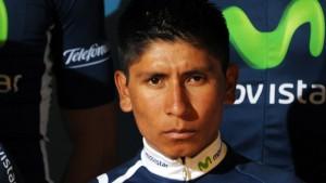 Movistar Team Colombian rider Nairo Quin