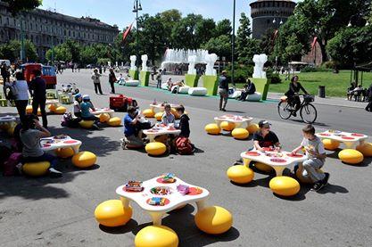 Piazza Castello, dopo la pedonalizzazione sempre più un centro di iniziative per la città