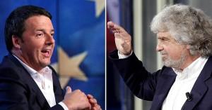 Renzi-vince-con-oltre-40-grillo-scende