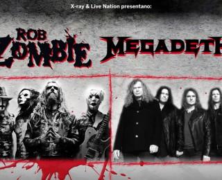 Rob Zombie e Megadeth insieme per due date italiane, svelate le band di apertura per i concerti di Roma e Milano