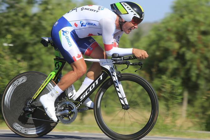 Giro d'Italia, cronosquadre: L'Orica conquista la prima. In rosa Svein Tuft.