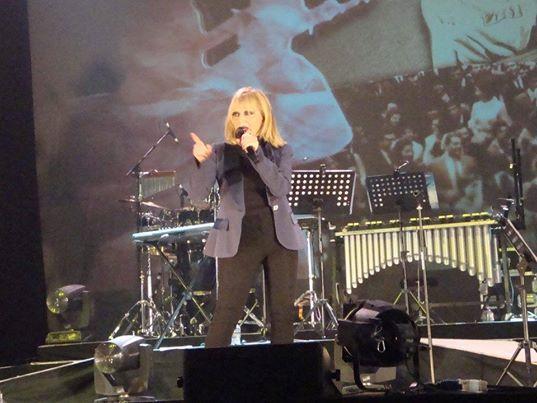 """RITA PAVONE:  """"RITA IS BACK -LIVE 2014"""" al Teatro Augusteo di Napoli"""