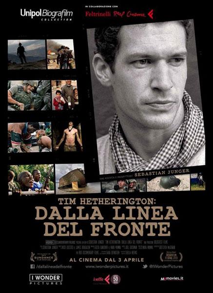 """""""Tim Hetherington: dalla linea del fronte"""", un film di Sebastian Junger"""