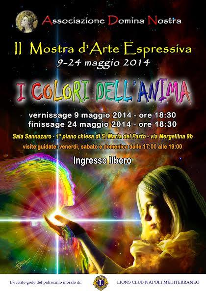 """""""I colori dell'anima"""", mostra d'arte espressiva a Napoli"""