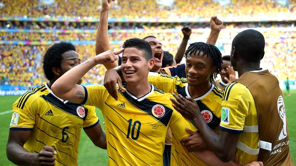 Mondiali: vola… Colombia vola! Rodriguez che spettacolo…