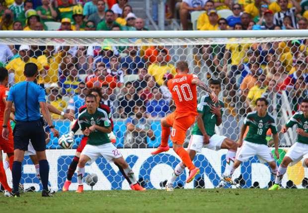 All'Olanda bastano quattro minuti: Orange ai quarti, eliminato il Messico