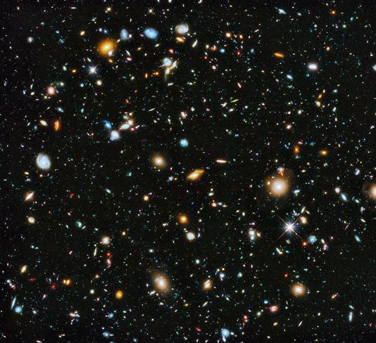 Nasa: l'immagine delle 10 000 galassie