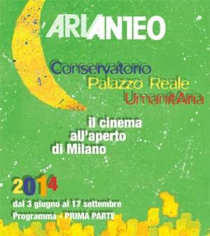Torna il Cinema all'aperto a Milano