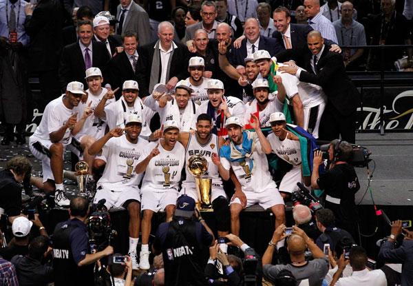 Basket nba: vendetta è fatta, i San Antonio Spurs sono campioni NBA