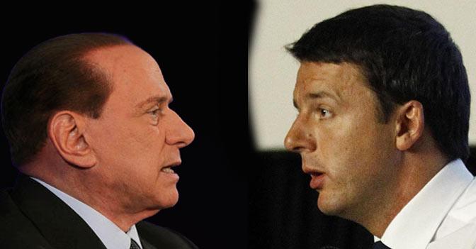 Riforme istituzionali, Berlusconi cerca l'intesa con Renzi