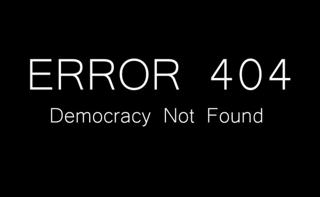 """""""Ora basta!"""". Un esempio di democrazia"""