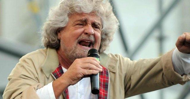"""Riforma del Senato, Grillo attacca Boschi: """"È una porcata"""""""