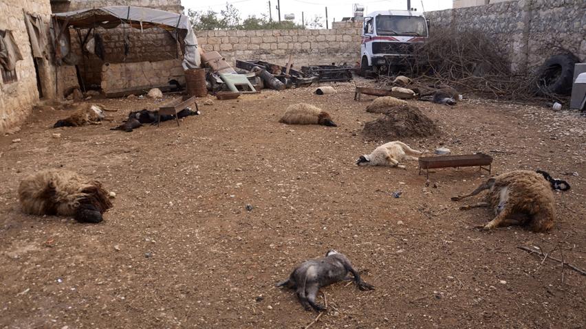 Siria: armi chimiche usate continuamente