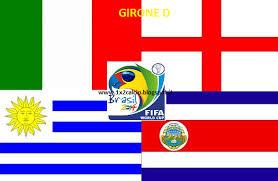Brasile 2014: L'Italia e il girone D