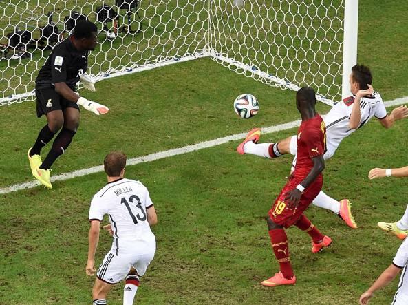 Il Ghana frena la Germania 2-2