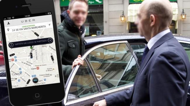 Uber: proposto a Milano il nuovo servizio UberTaxi