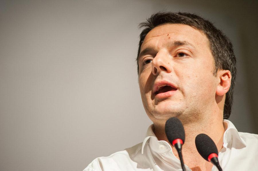 """Da Firenze l'appello di Renzi alle banche: """"Dovete sostenere le imprese"""""""